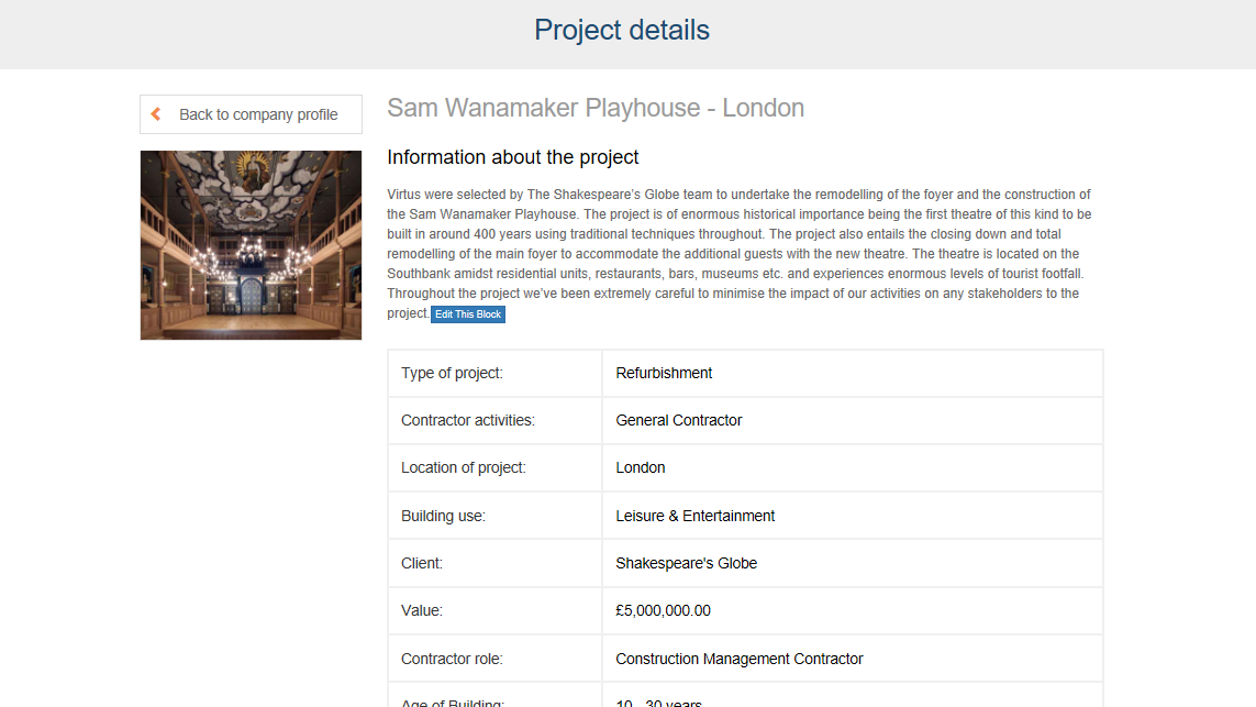 Creating / Editing Projects - Constructor Hub